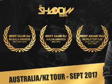 DJ Shadow Dubai Australia/NZ Tour