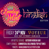 "Bombay Velvet ""Hinglish"" Edition"